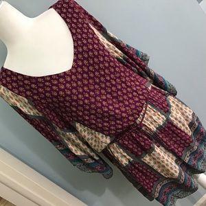 American Eagle Outfitters | Boho Mini Dress Size S